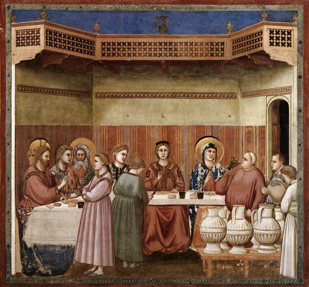 No. 24 Scenes from the Life of Christ: 8. Marriage at Cana