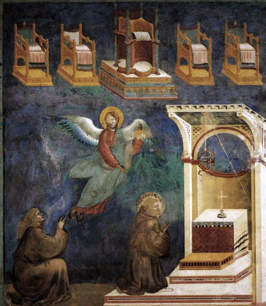 Legend of St Francis: 9. Vision of the Thrones