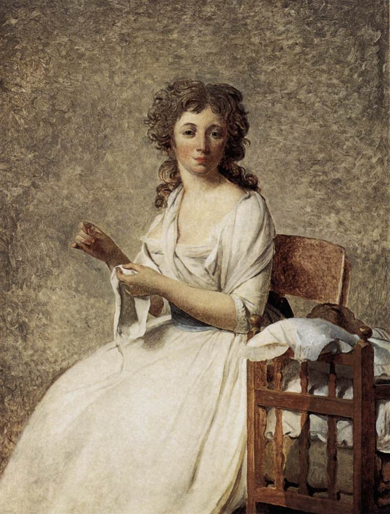 Portrait of Madame Adélaide Pastoret