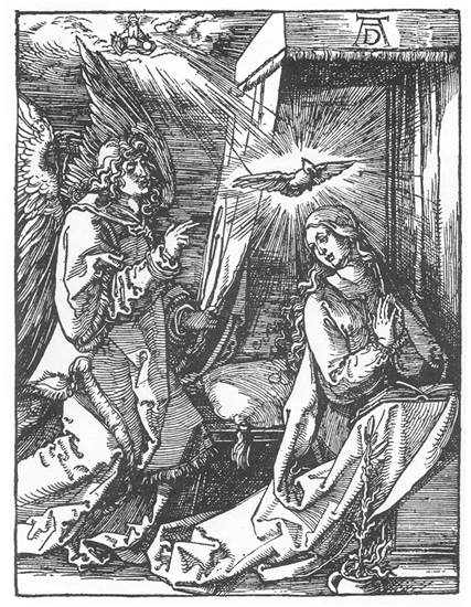 Small Passion: 3. The Annunciation