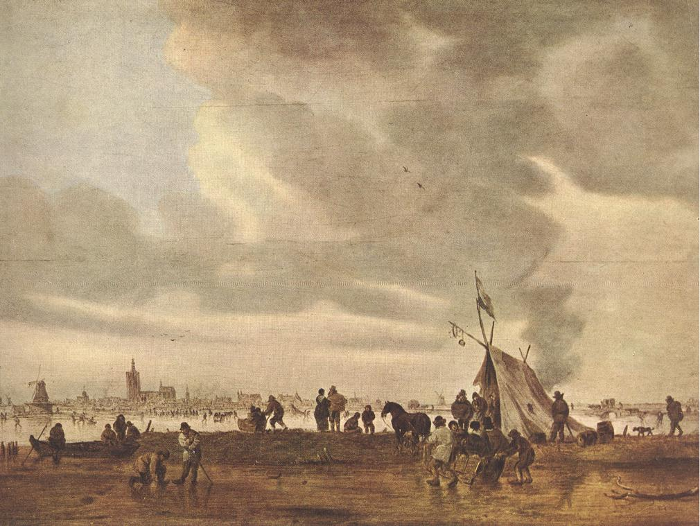 View of The Hague in Winter