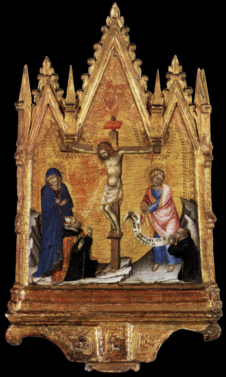 Crucifixion with Donor