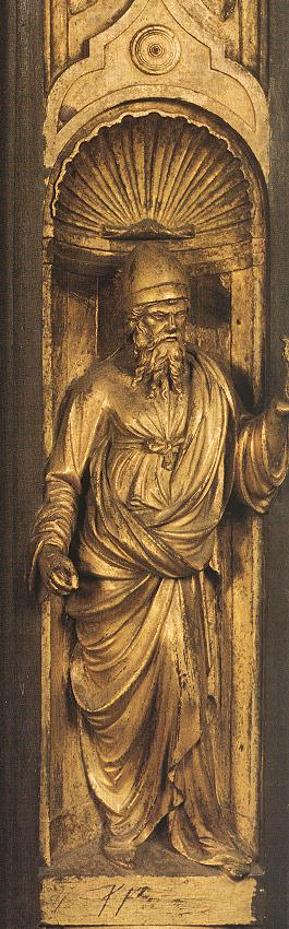 Biblical Person (detail from the east door)