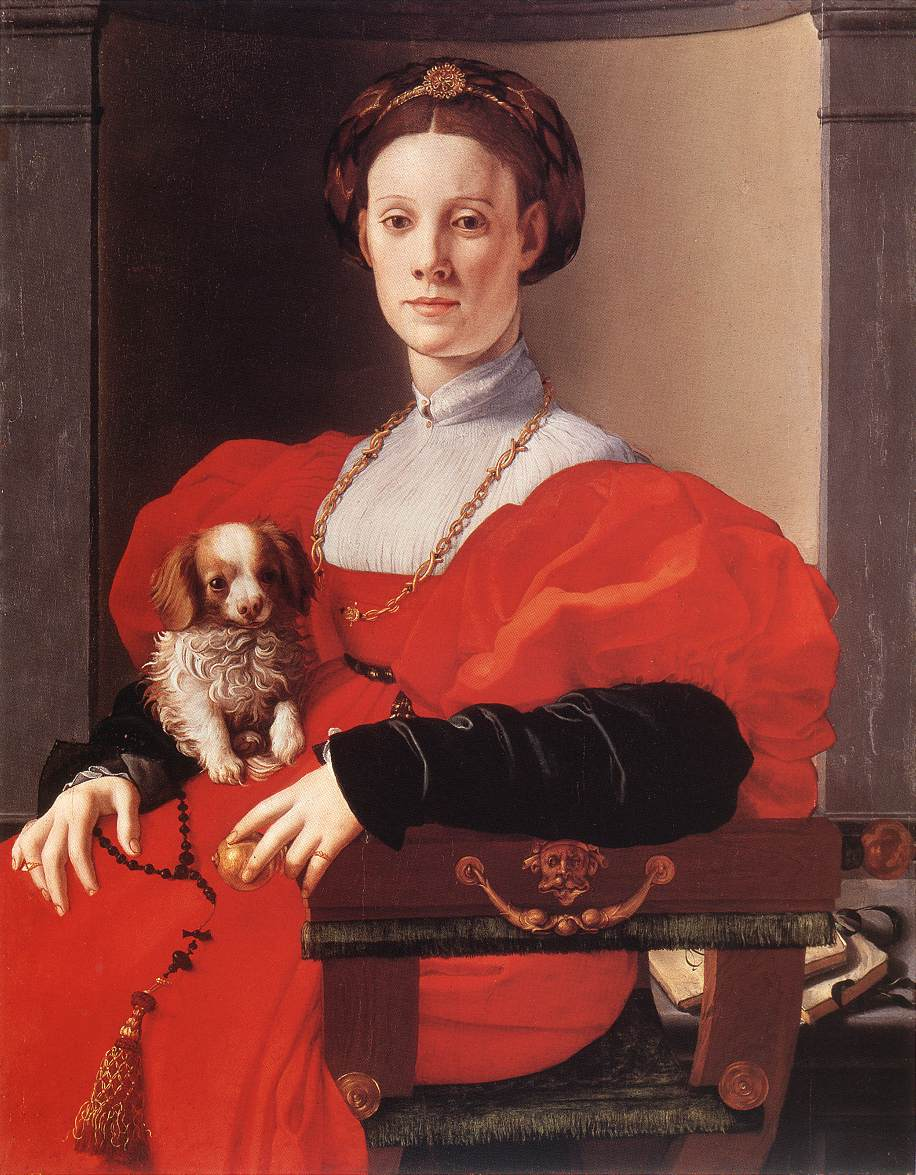 Portrait of a Lady in Red