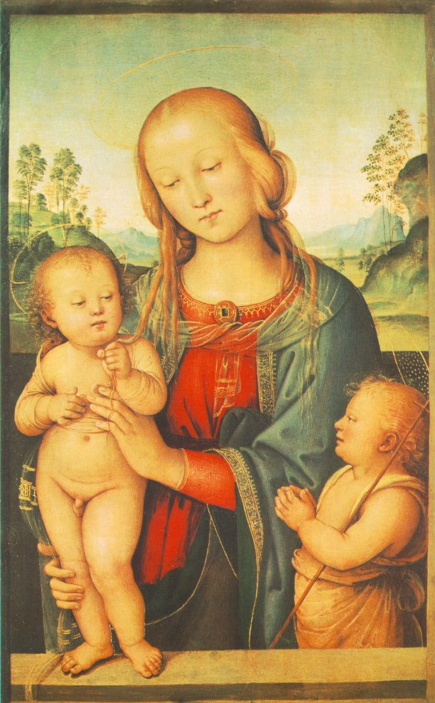 Madonna with Child and Little St John