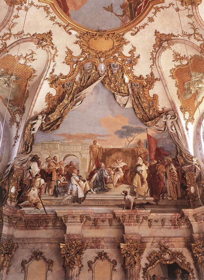The Investiture of Herold as Duke of Franconia