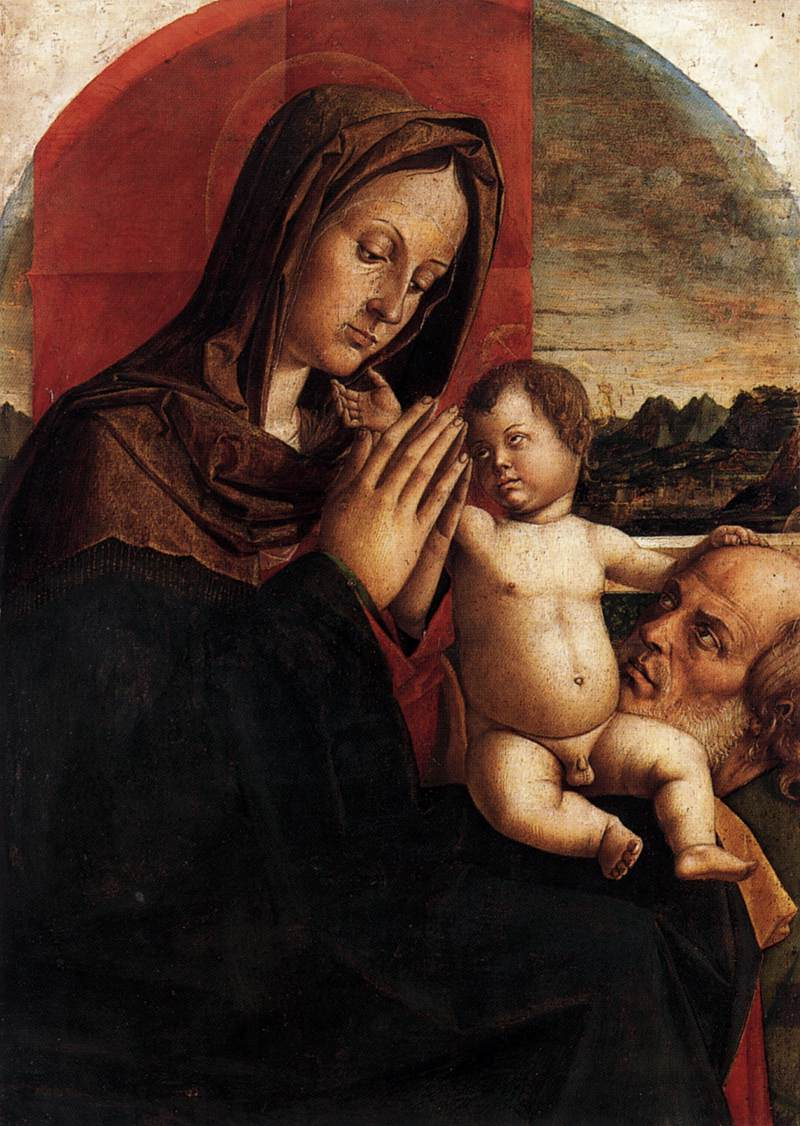 Madonna and Child with St Joseph