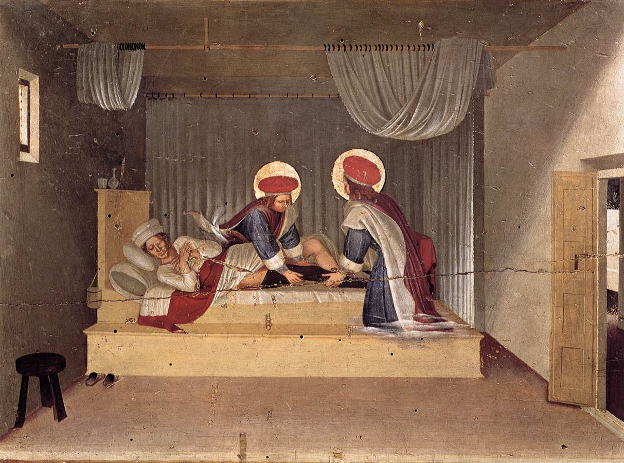 The Healing of Justinian by Saint Cosmas and Saint Damian