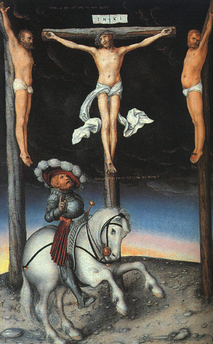 The Crucifixion with the Converted Centurion