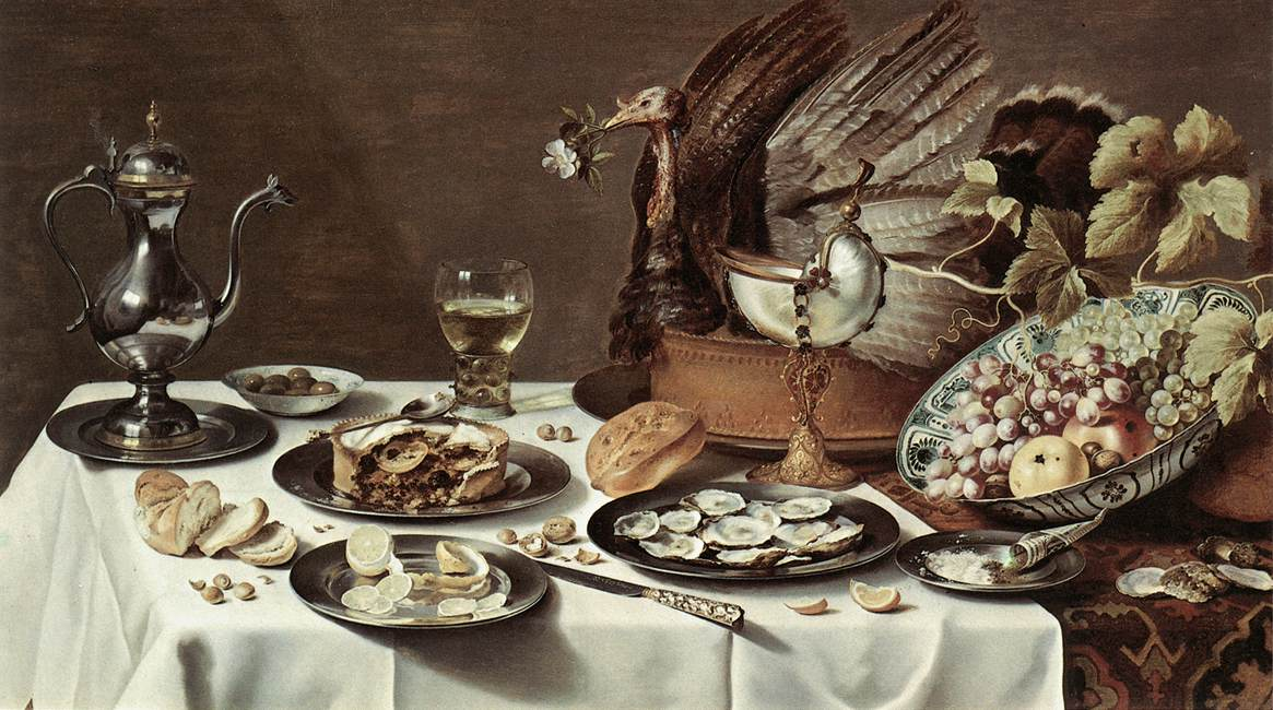 Still-life with Turkey-Pie