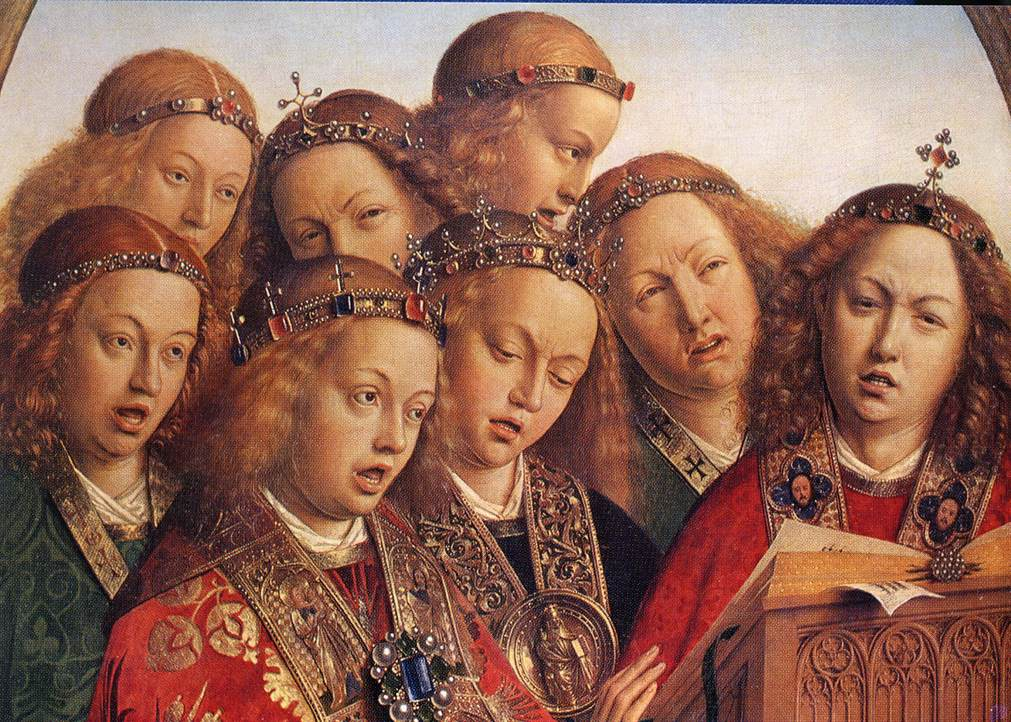 The Ghent Altarpiece: Singing Angels