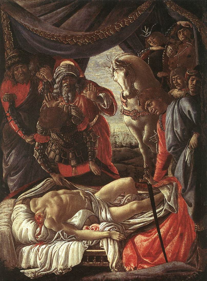 The Discovery of the Murder of Holofernes