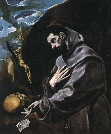 St Francis Praying