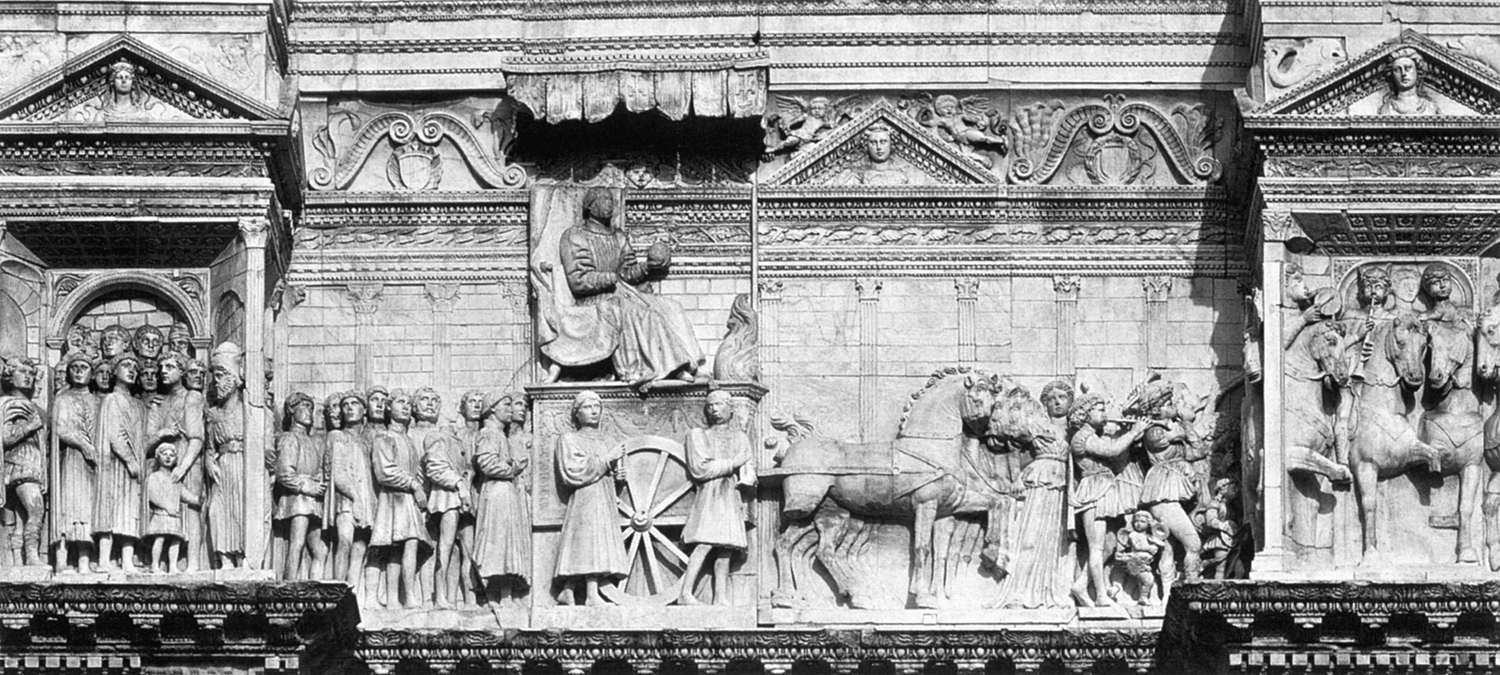 Alfonso of Aragon in Triumph with his Court