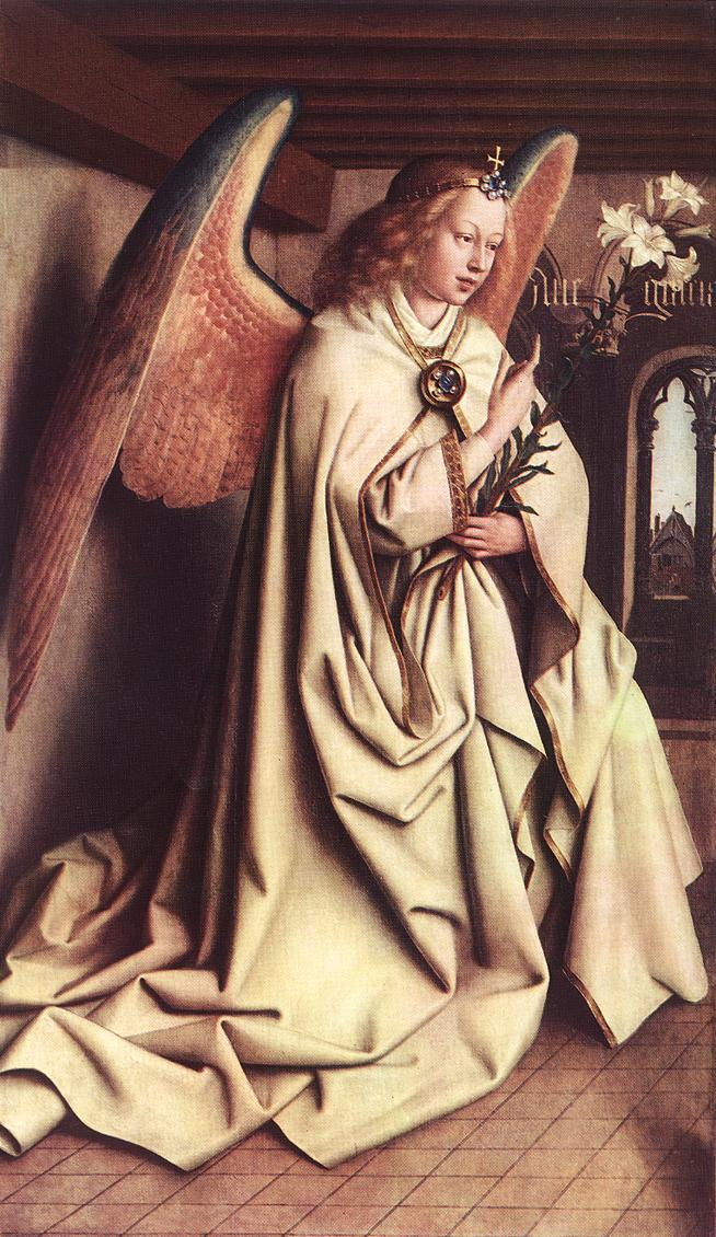 The Ghent Altarpiece: Angel of the Annunciation