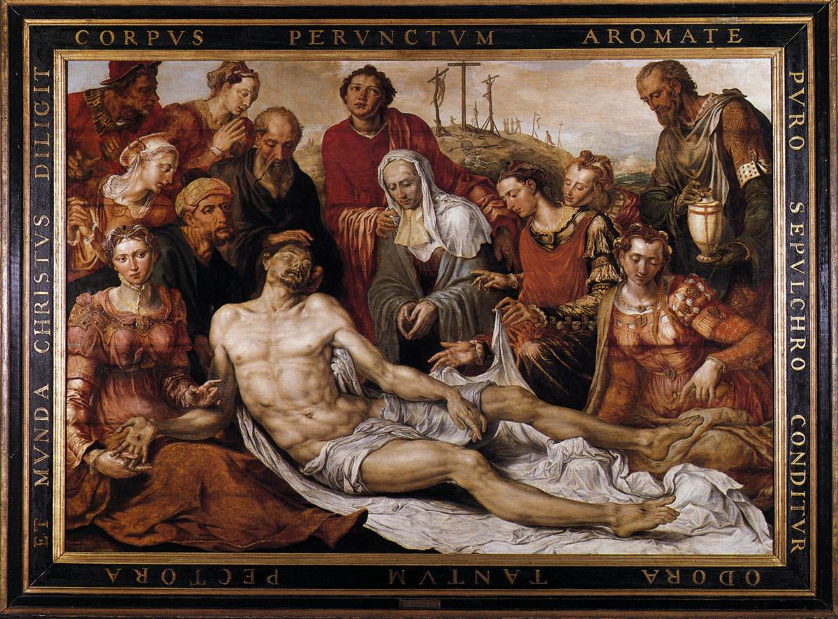 Lamentation on the Dead Christ