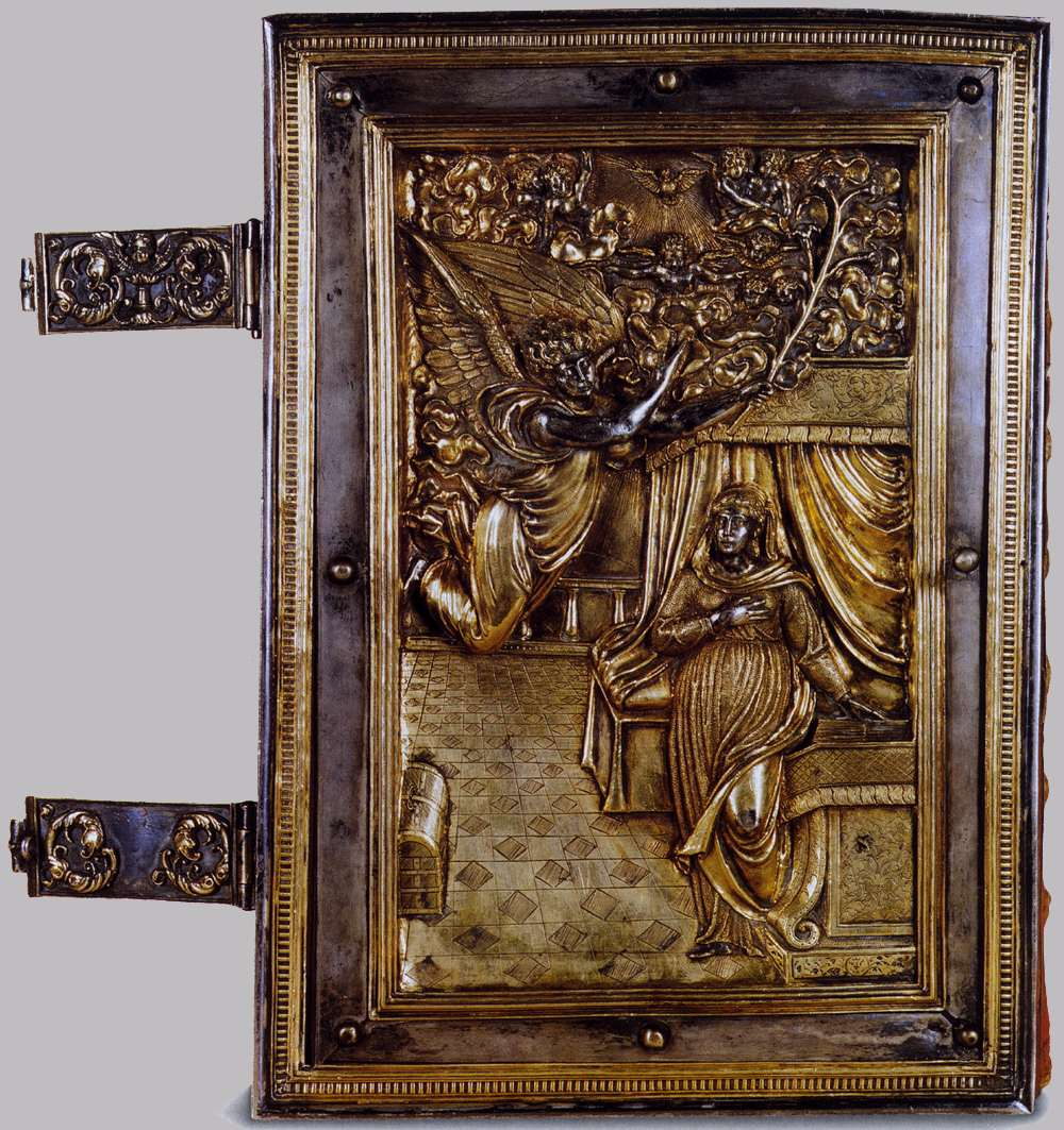 Binding of a Book of Hours