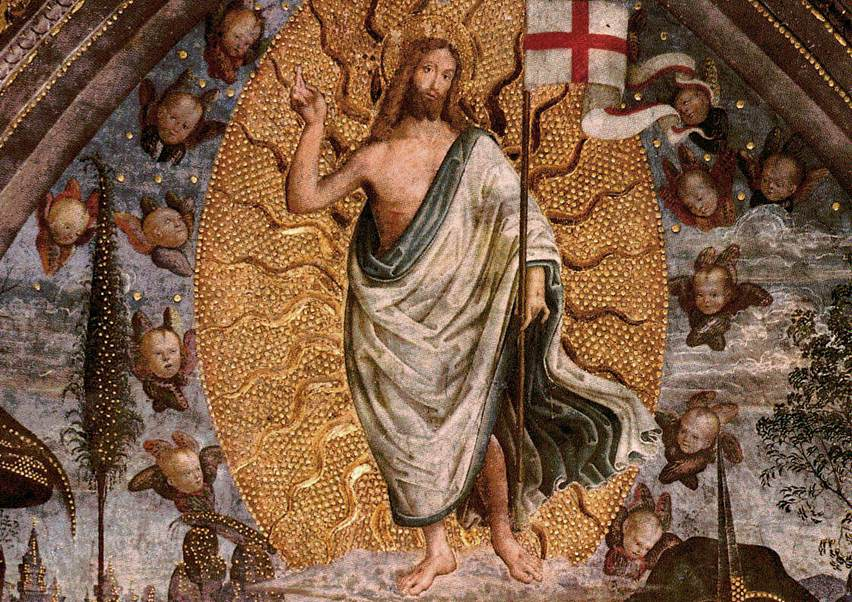 The Resurrection (center view)