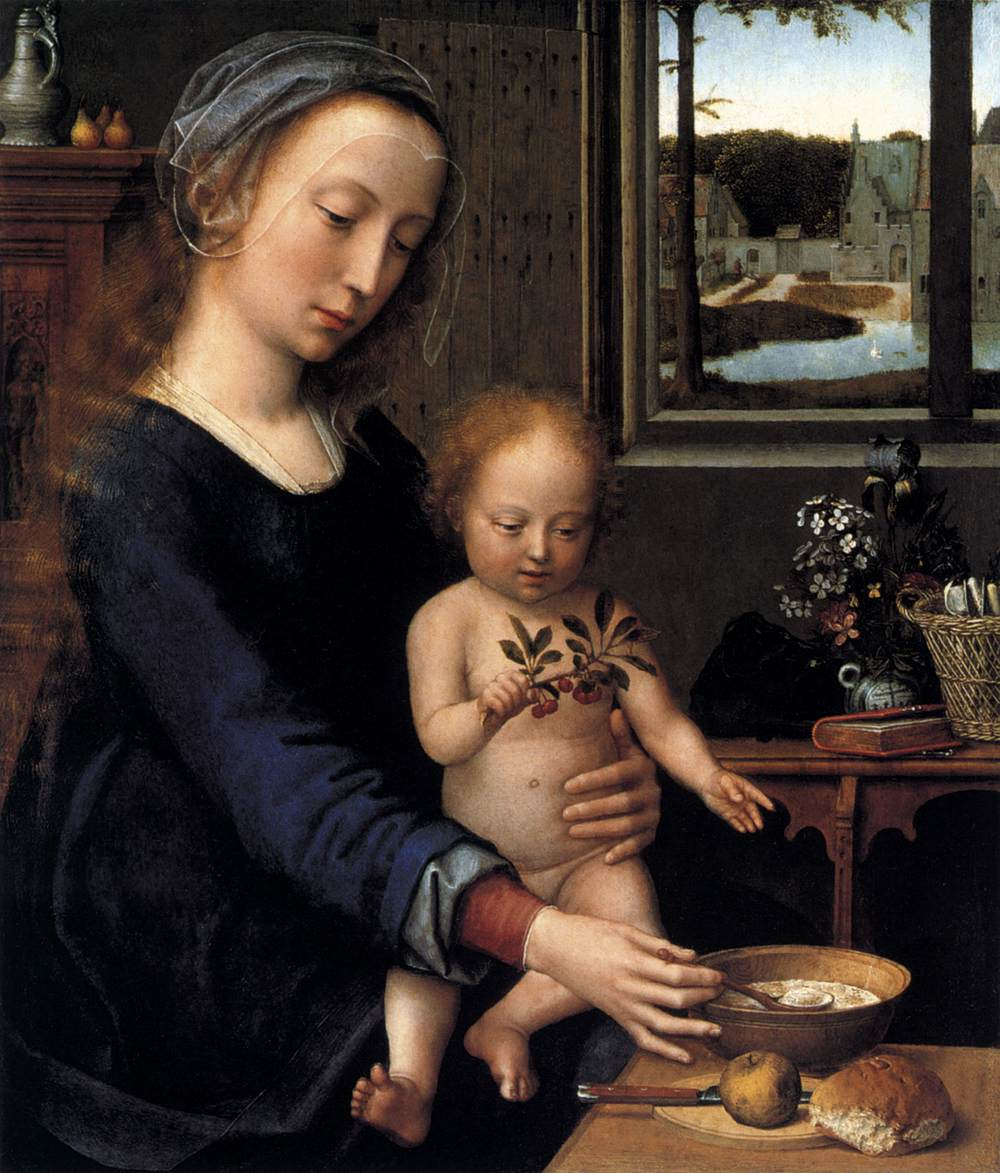 Virgin and Child with the Milk Soup