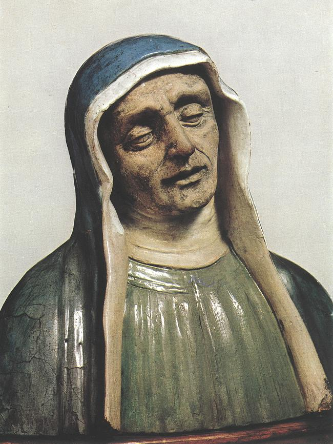 Bust of a Saint