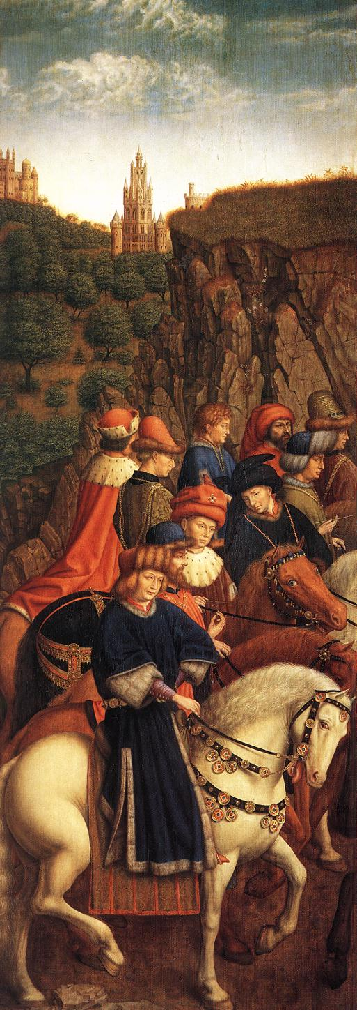 The Ghent Altarpiece: The Just Judges