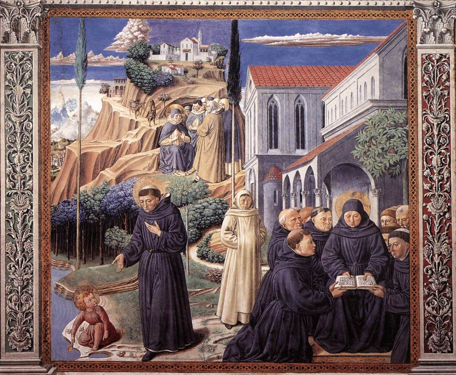 The Parable of the Holy Trinity (scene 12, south wall)