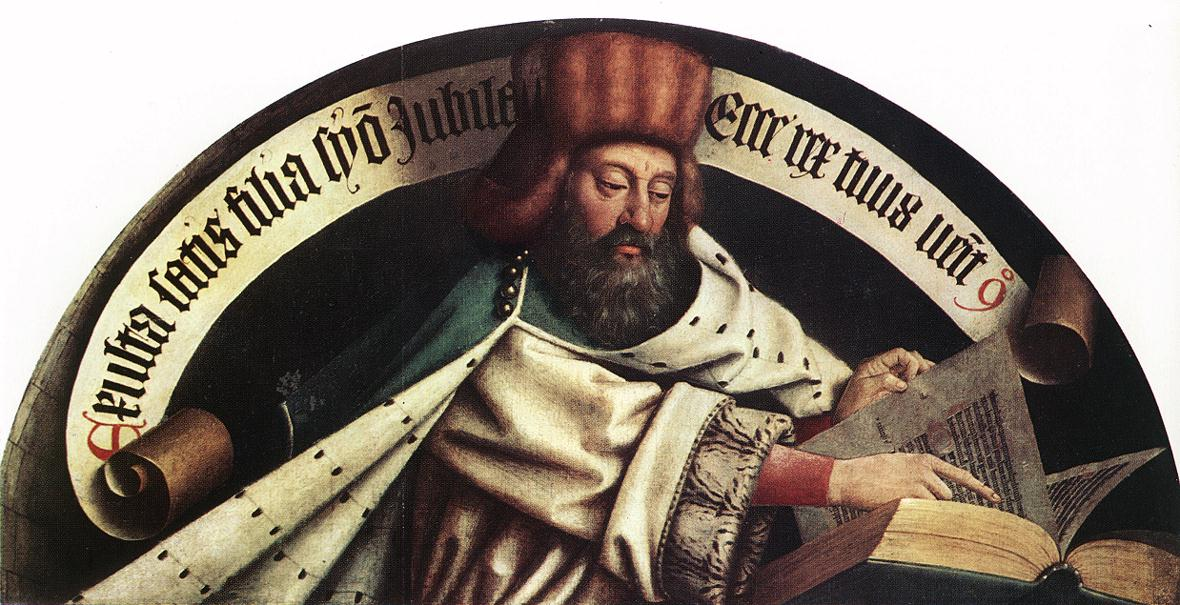 The Ghent Altarpiece: Prophet Zacharias