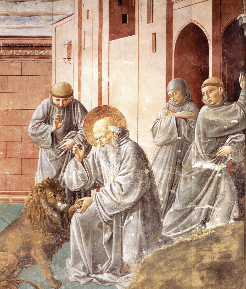 St Jerome Pulling a Thorn from a Lion's Paw