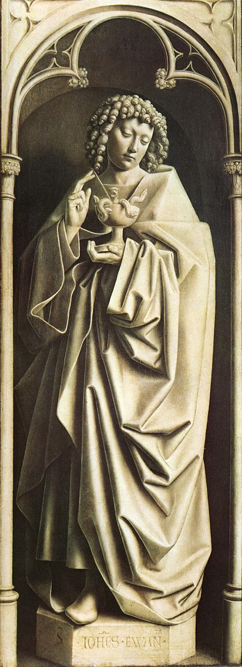 The Ghent Altarpiece: St John the Evangelist