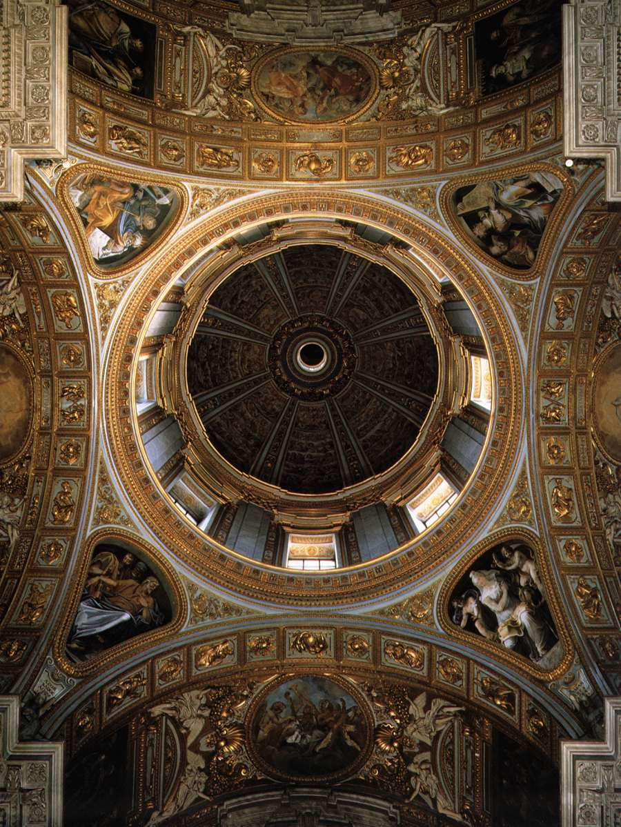The Dome of the Sistine Chapel