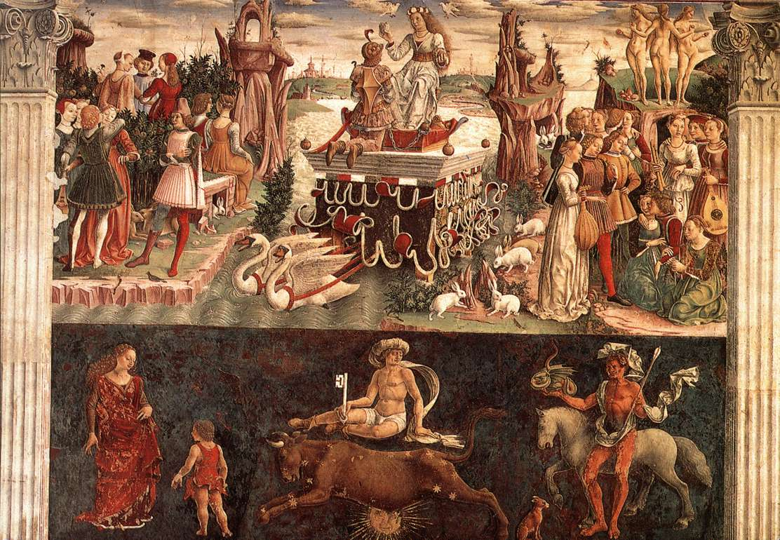 Allegory of April: Triumph of Venus