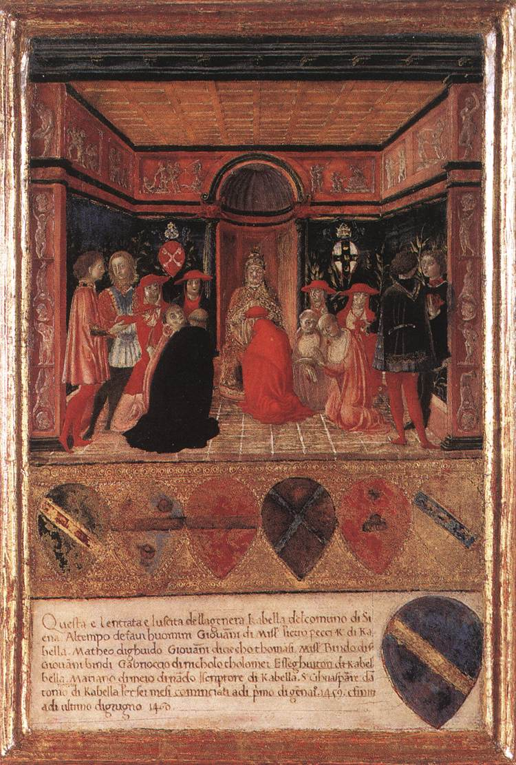Pope Pius II Names Cardinal His Nephew