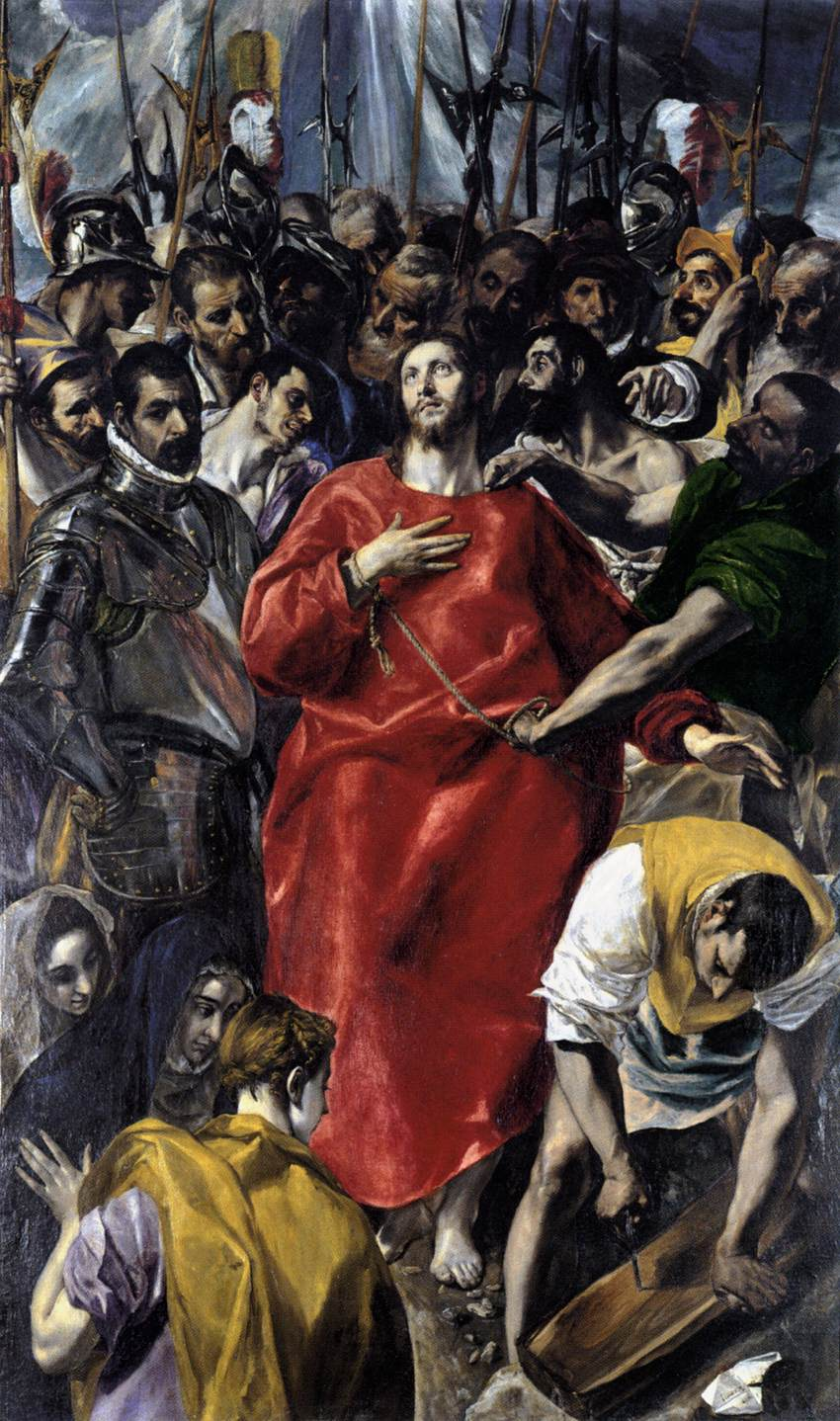 The Disrobing of Christ (El Espolio)