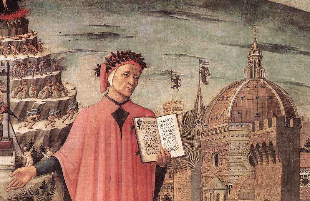 Dante Illuminating Florence with his Poem