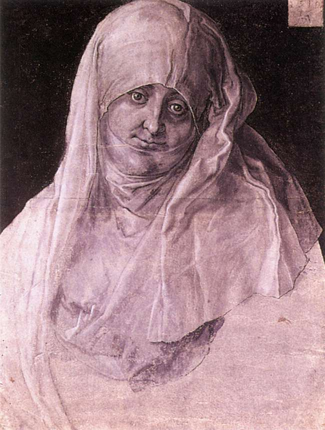 Agnes Dürer as St Anne