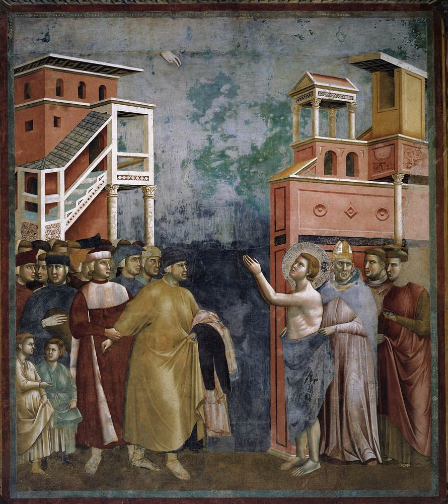 Legend of St Francis: 5. Renunciation of Wordly Goods