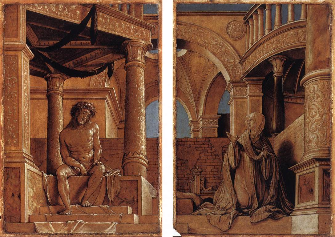 Diptych with Christ and the Mater Dolorosa