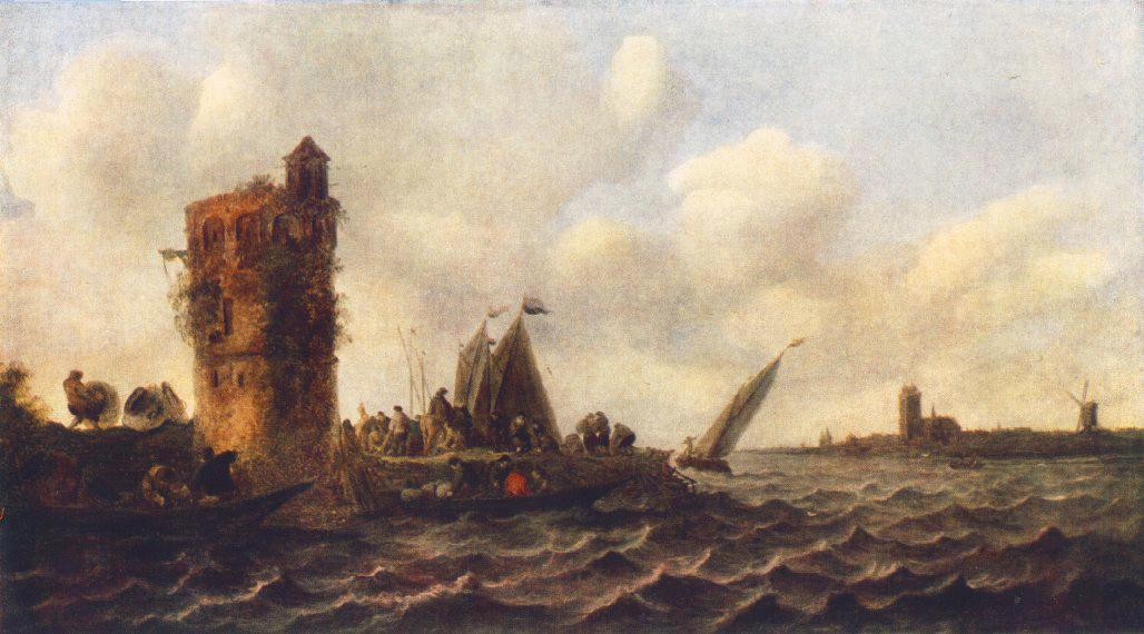 A View on the Maas near Dordrecht