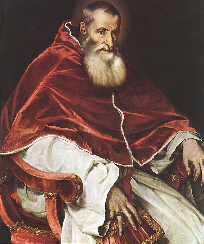 Portrait of Pope Paul III