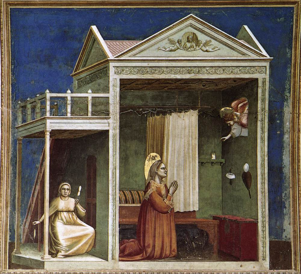 No. 3 Scenes from the Life of Joachim: 3. Annunciation to St Anne