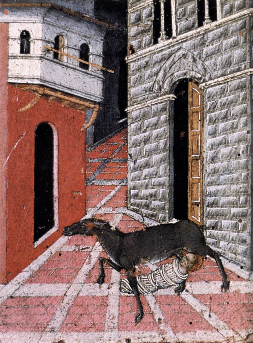 St Stephen Suckled by a Doe