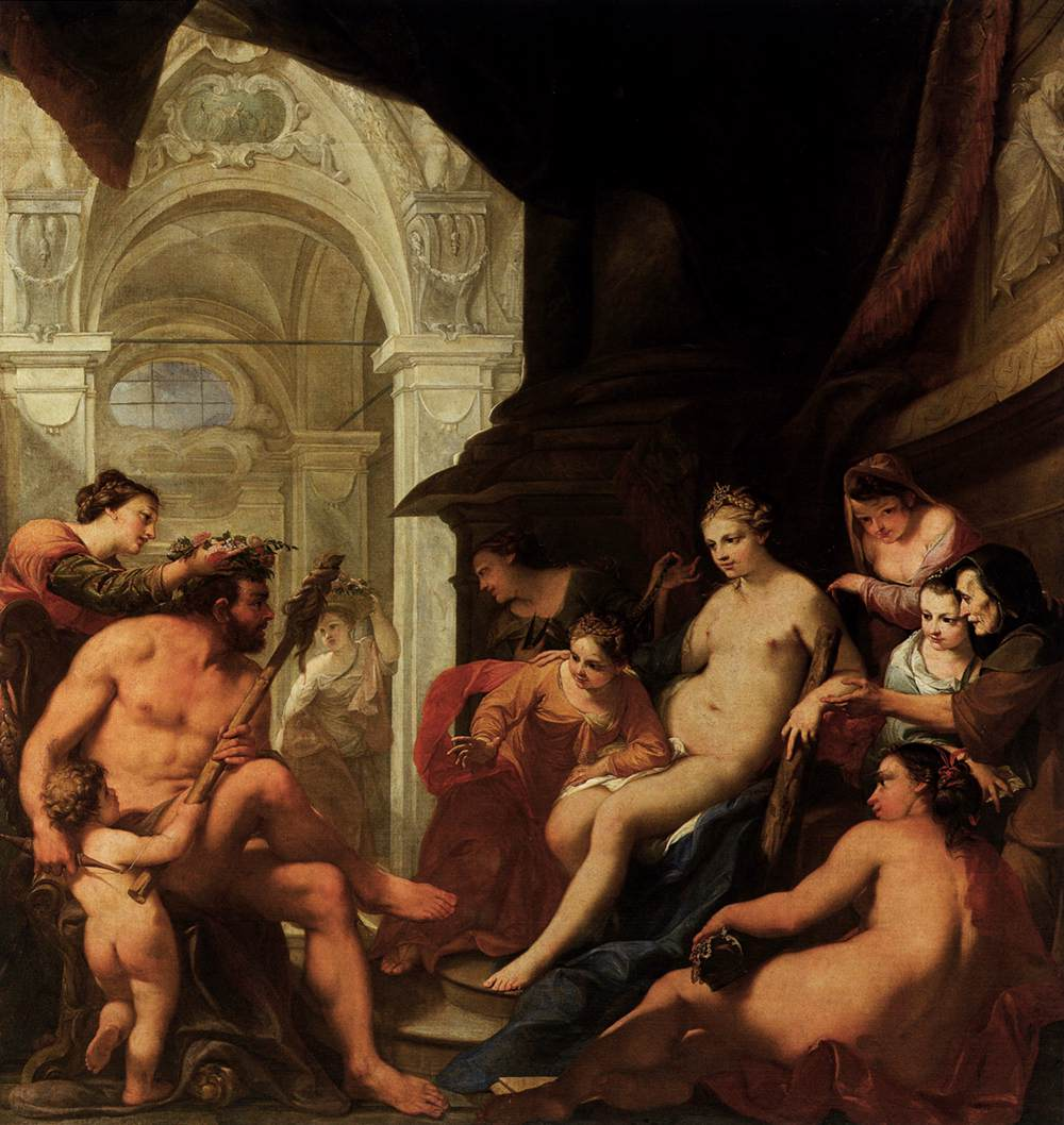 Hercules in the Palace of Omphale