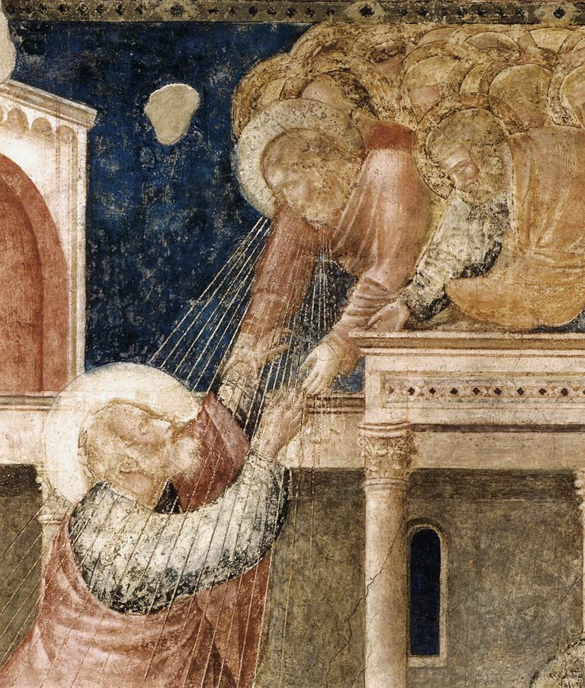 Scenes from the Life of St John the Evangelist: 3. Ascension of the Evangelist