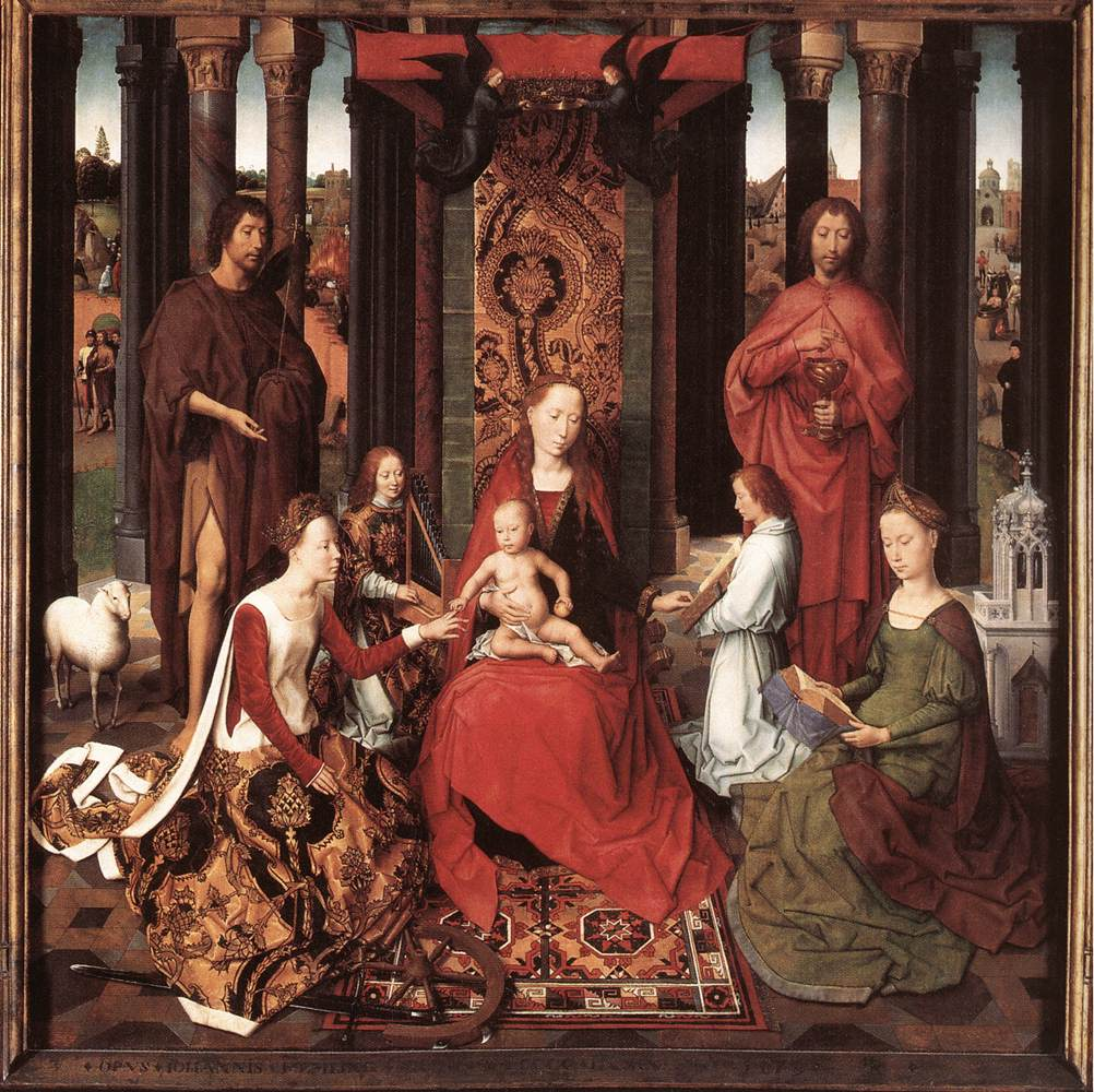 St John Altarpiece (central panel)