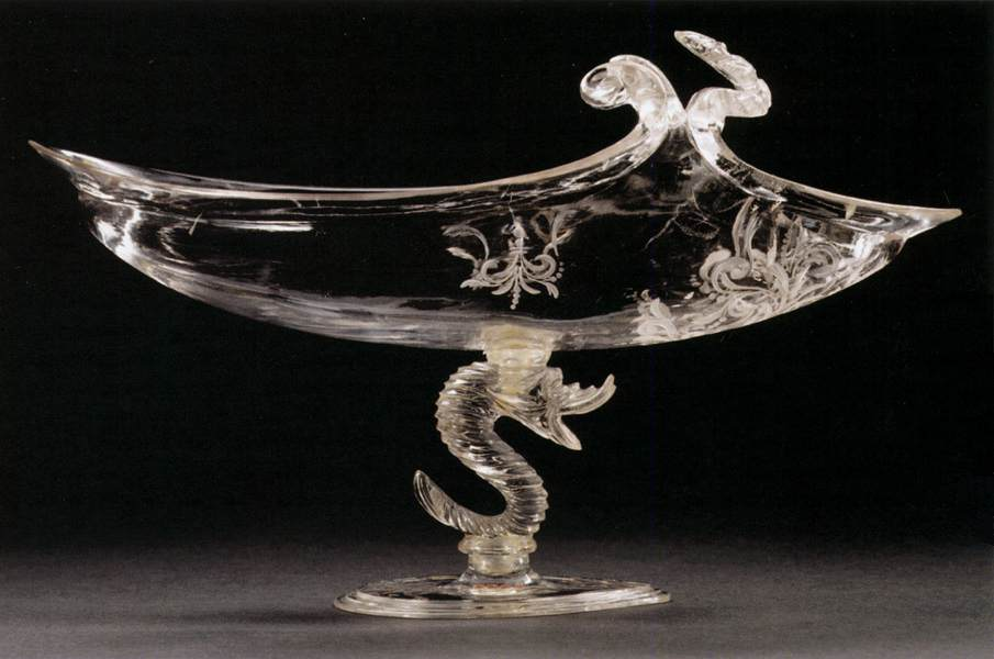 Bowl in the Form of a Ship