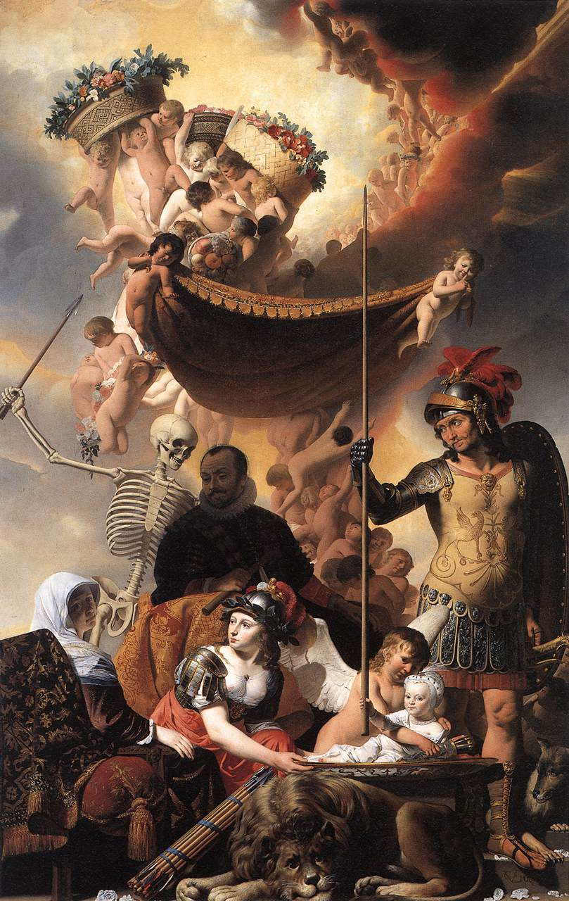 Allegory of the Birth of Frederik Hendrik