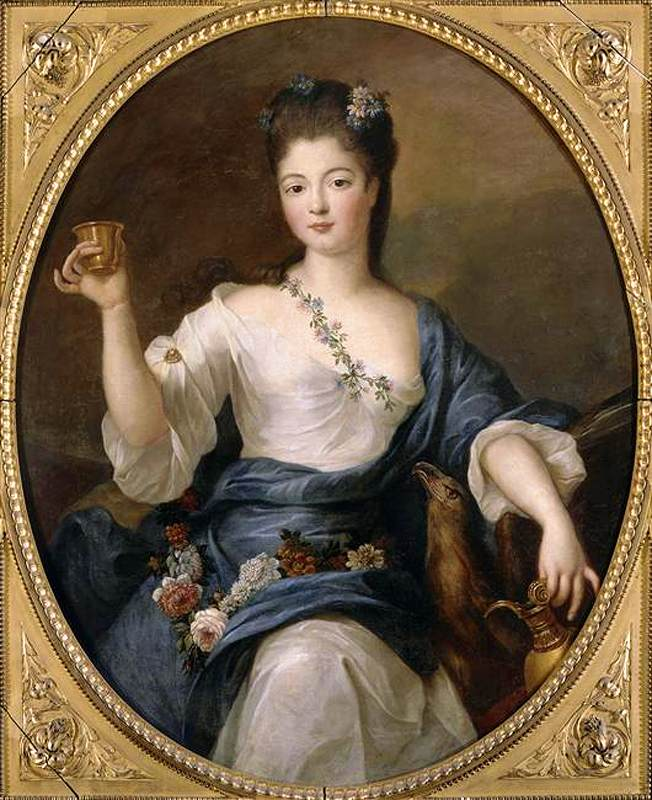 Portrait of the Duchess of Modena as Hébé