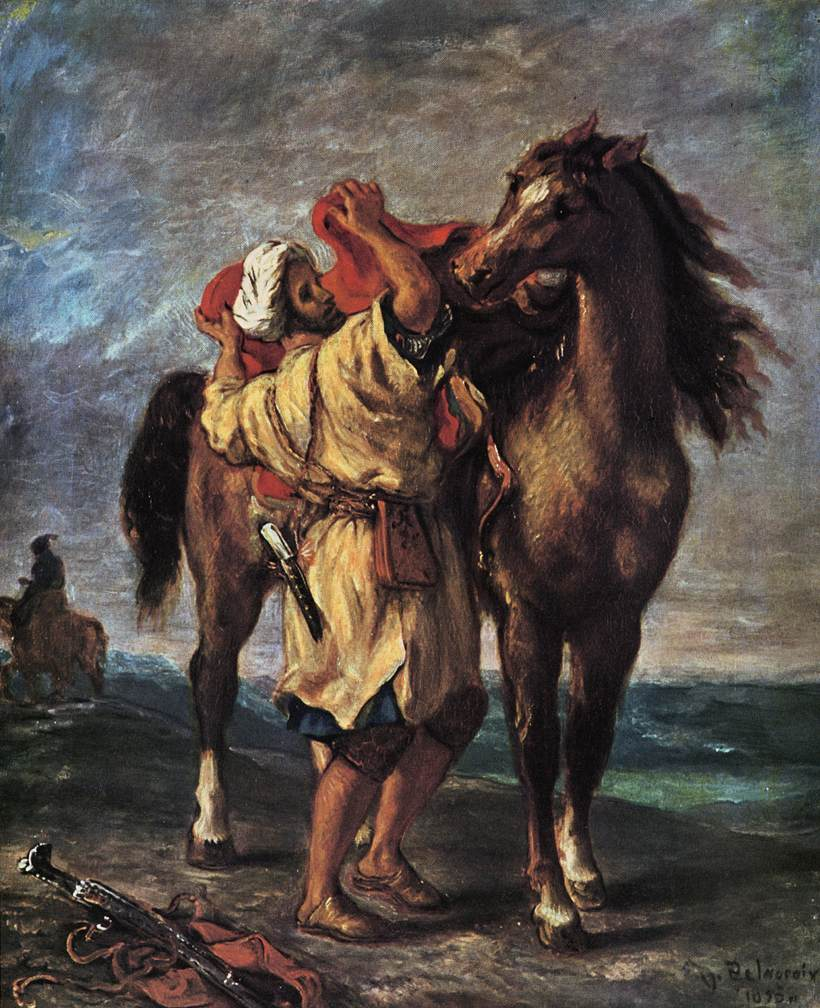 Marocan and his Horse