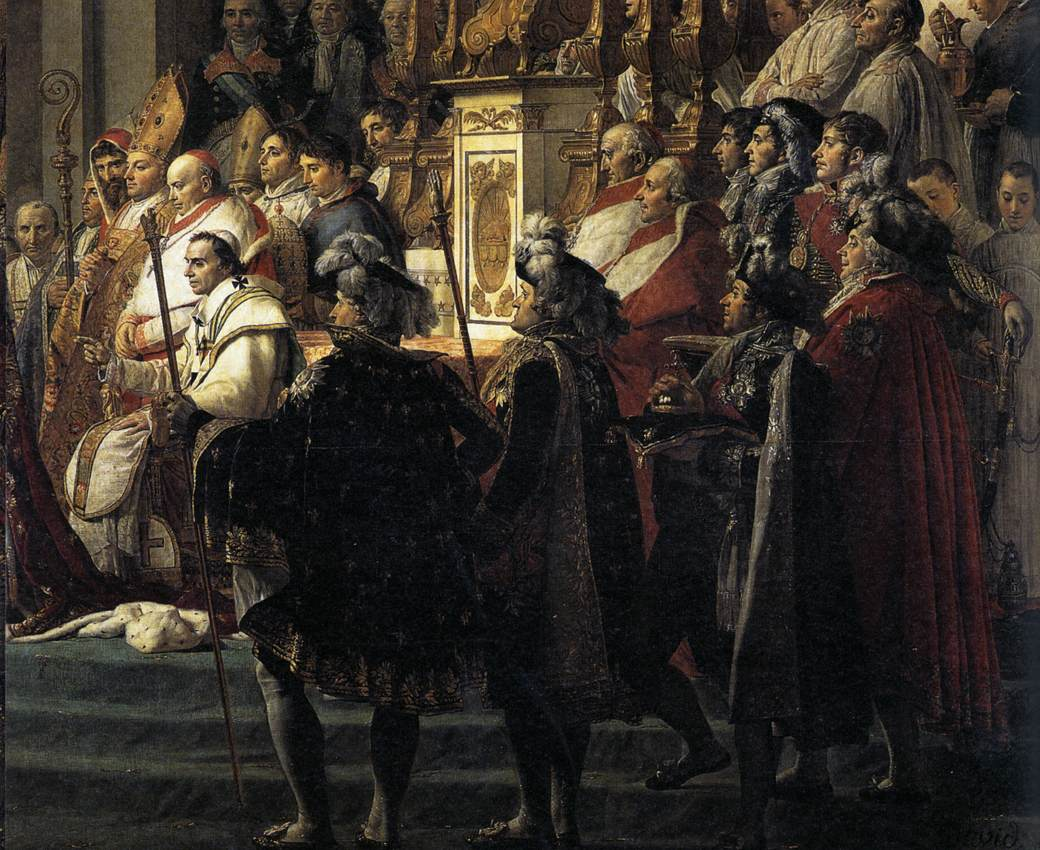 Consecration of the Emperor Napoleon I