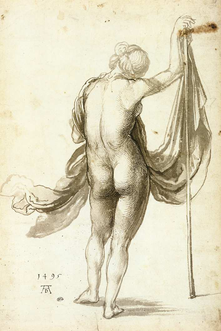 Female Nude from Behind